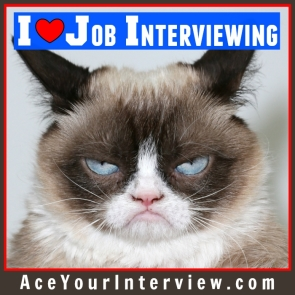 110 Grumpy Cat Victoria LoCascio The Aces Company Ace Your Job Interview LinkedIn Profile I Love Job Interviewing