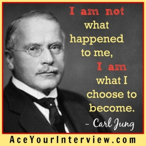 124 Victoria LoCascio The Aces Company Ace Your Interview LinkedIn Profile Carl Jung I am not what happened to me I am what I choose to become
