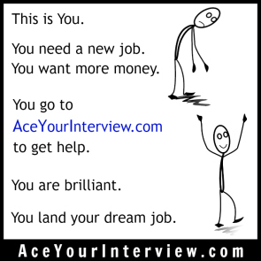 145 Stick Figure Victoria LoCascio Ace Your Interview LinkedIn Profile The Aces Company