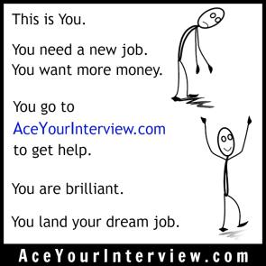 145 Stick Figure Victoria LoCascio Ace Your Interview LinkedIn Profile The Aces Company