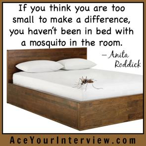 153 Anita Roddick Quote Victoria LoCascio Ace Your Interview LinkedIn Profile The Aces Company