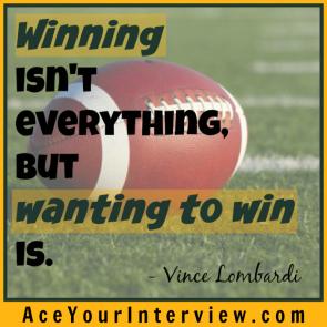 155 Vince Lombardi Quote Victoria LoCascio Ace Your Interview LinkedIn Profile The Aces Company