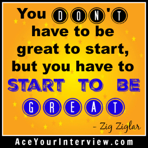 160 Zig Ziglar Quote Victoria LoCascio Ace Your Interview LinkedIn Profile The Aces Company
