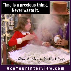 173 Gene Wilder Quote Willy Wonka Victoria LoCascio Ace Your Interview LinkedIn Profile
