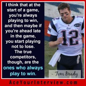 184 Tom Brady Victoria LoCascio Ace Your Interview