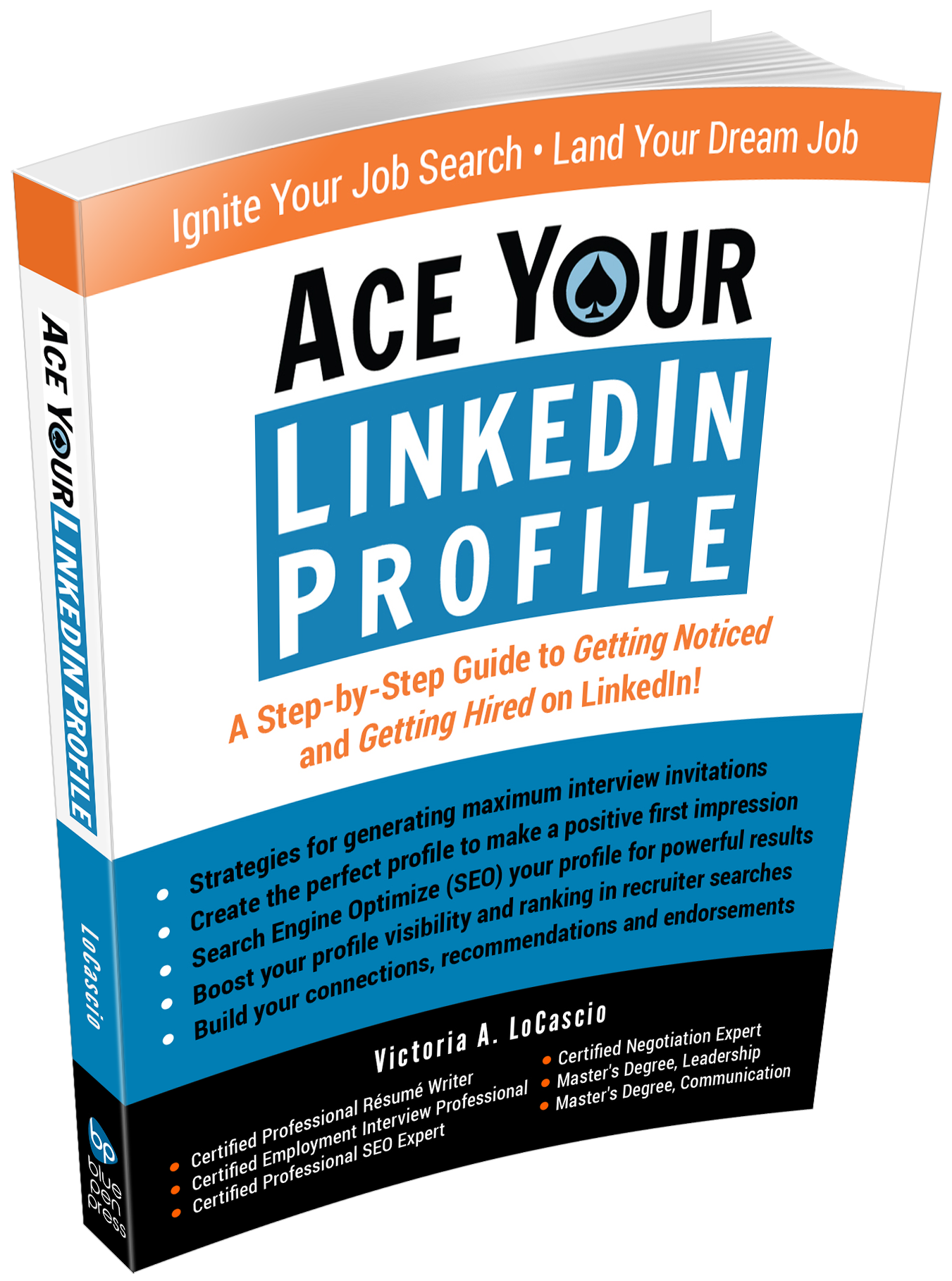Ace Your LinkedIn Profile Book Victoria LoCascio