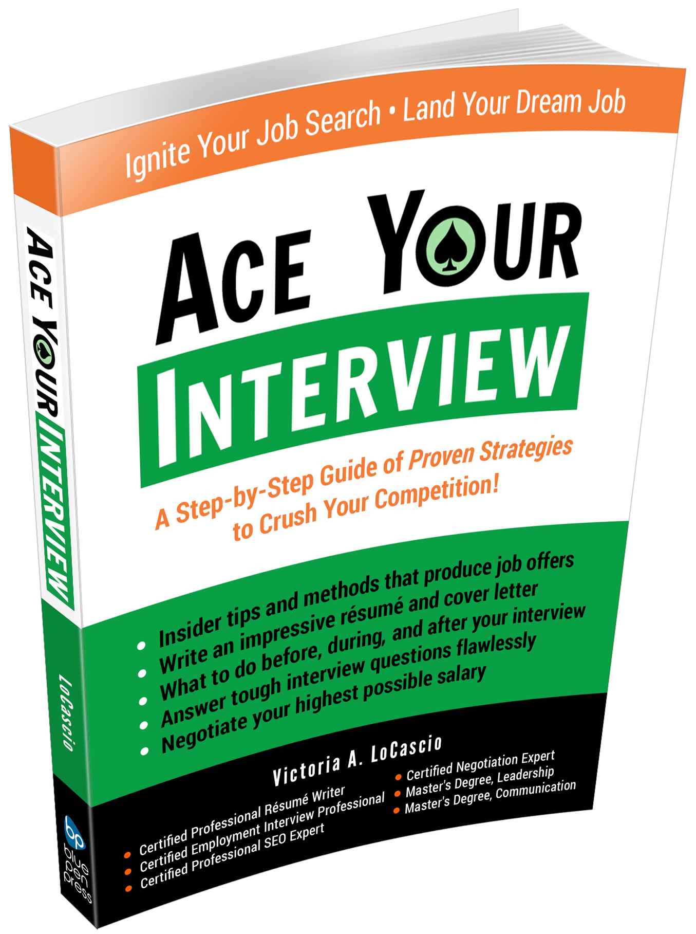 Ace Your Interview Book Victoria LoCascio