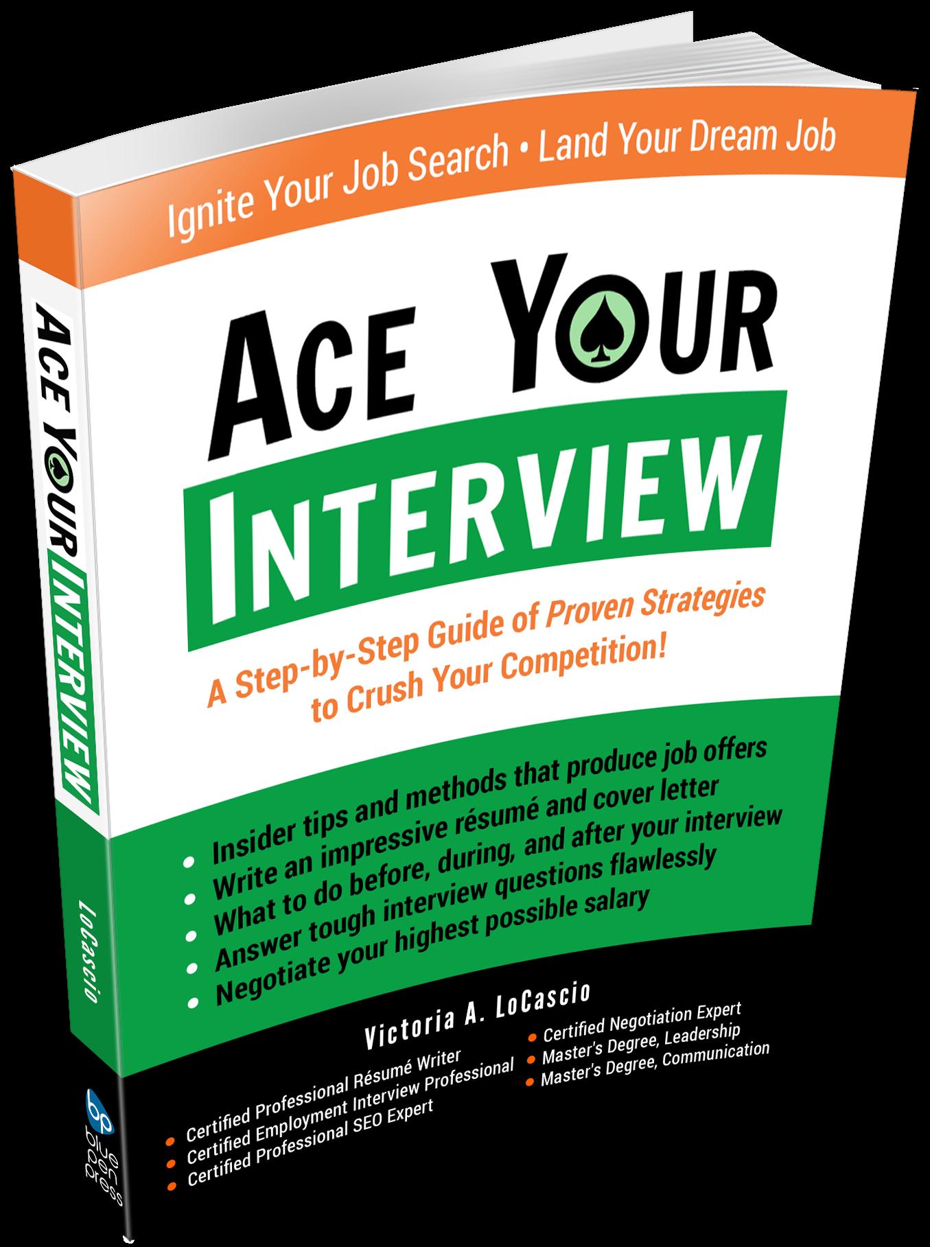 Ace Your Interview Book Victoria LoCascio