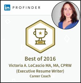 LinkedIn Victoria LoCascio Ace Your Interview Award