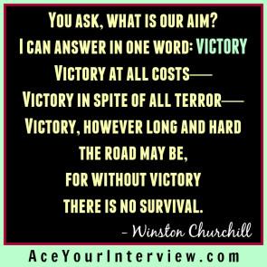 DEC 7 Winston Churchill Victoria LoCascio Ace Your Interview