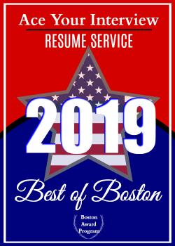 2019 Best Resume Writing Service Award Victoria LoCascio