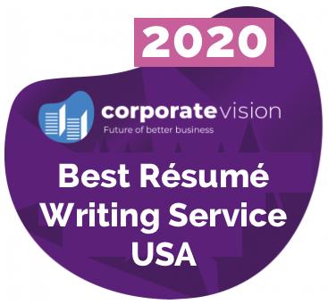2020 Best Resume Writing Service Award Victoria LoCascio